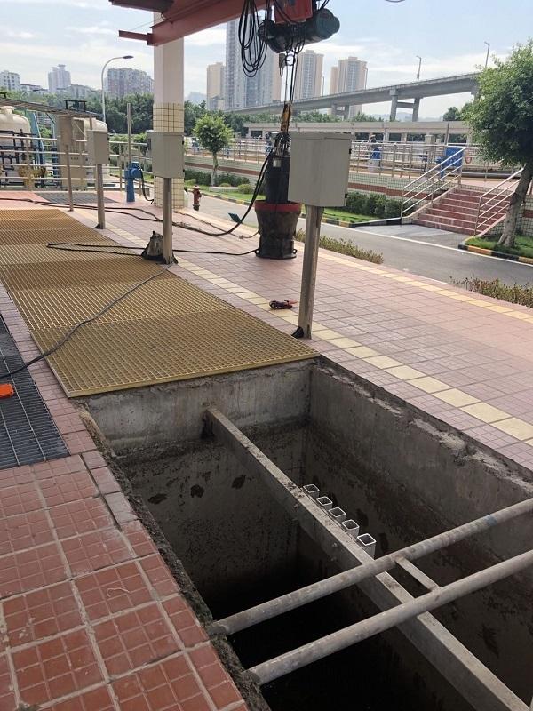 重庆大渡口污水处理厂电机维修案例